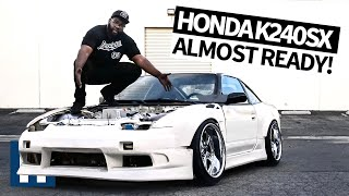 UnPros Garage: Hert's Honda Powered K240SX is Almost Ready! Johnnies, Aero, Bash Bar + More Ep.6