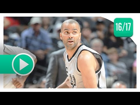 Tony Parker Full Highlights vs Jazz (2017.04.02) - 21 Pts, 5 Ast, Still GOT IT!