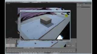 Уроки по Blender. Урок 15-4. Camera Tracking. Практика№3. Tutorial 15-4.