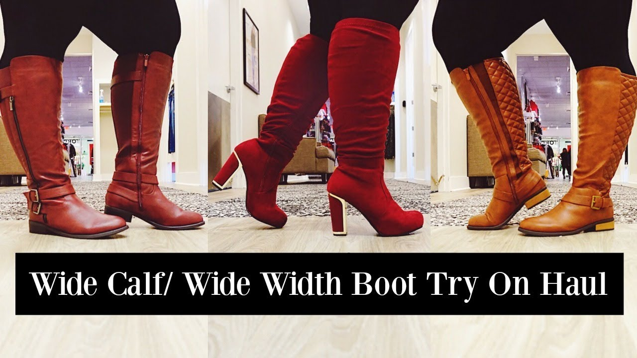 32f4b5bfd73 Wide Calf Boots   Wide Width Booties