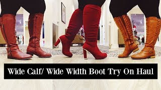 Wide Calf Boots & Wide Width Booties | Plus Size Fashion Haul