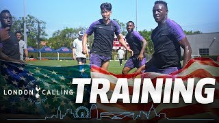 SPURS IN USA | DAY ONE TRAINING | MAURICIO ON US TOUR