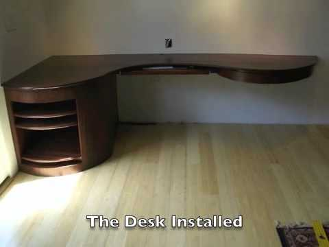 Building a Curved Desk & Building a Curved Desk - YouTube