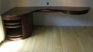 Building A Curved Desk
