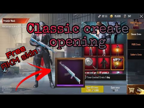Pubg Mobile Tricks and tips Crate Opening 20 classic crate and 3 premium