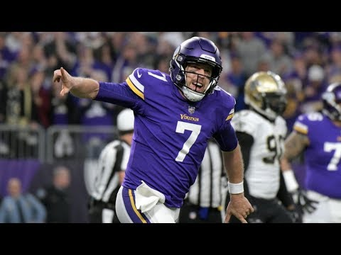 """Saints vs. Vikings 2018 NFC Divisional Game Highlights """"The Minneapolis Miracle"""" 