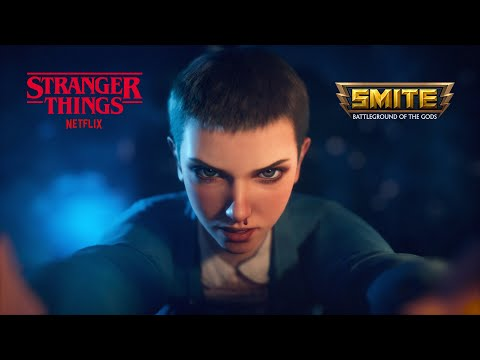 SMITE x Stranger Things Battle Pass - Available July 2021