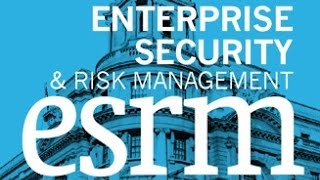 Neil Thacker, Raytheon at Enterprise Security and Risk Management December 2015