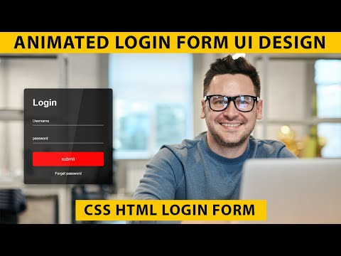 How To Create Transparent Login Form In HTML & CSS |  Login Form Design | Sign In Form | No JQuery
