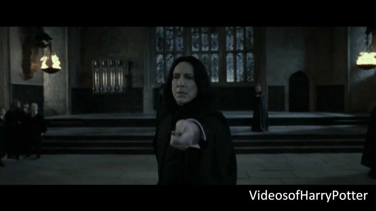 73cce33a2 Severus Snape VS Minerva McGonagall  HD  - YouTube