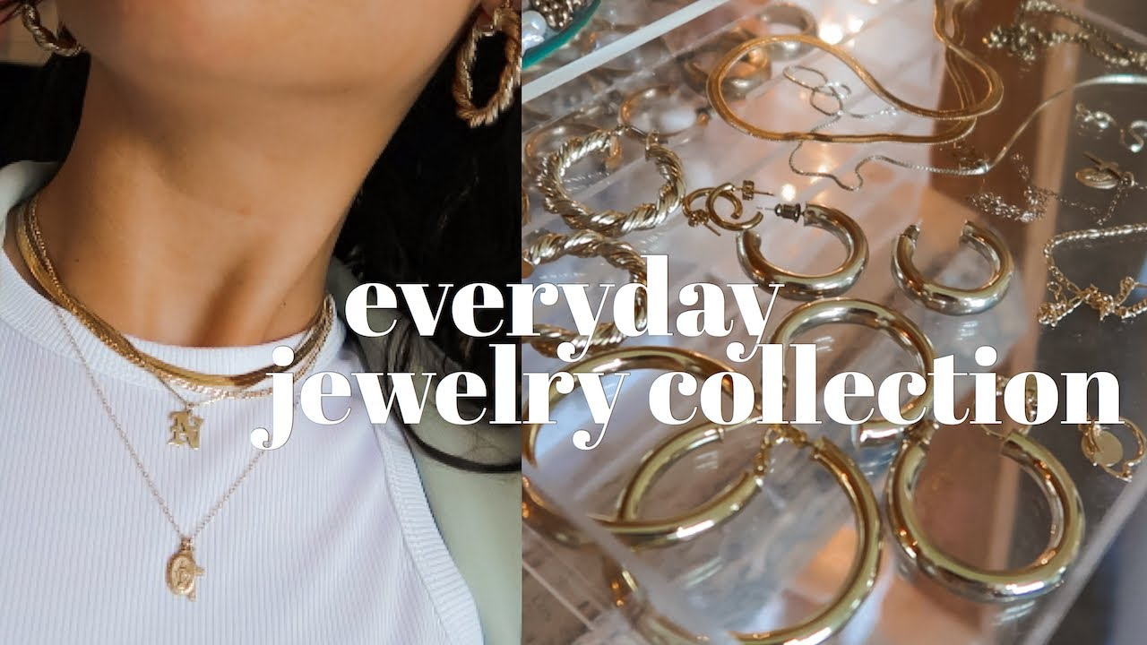 MY EVERYDAY JEWELRY COLLECTION   the BEST etsy jewelry ...