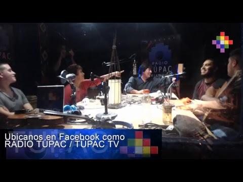 HIJOS DE SANTIAGO  X RADIO TÚPAC 13-4-17