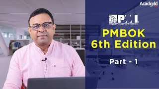 Gambar cover PMP Training Video 6th Edition Part 1| PMBOK 6th Edition 2018 | PMP Certification Exam Prep Tutorial
