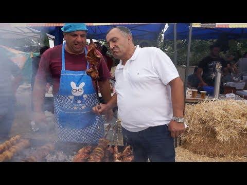 Фестиваль шашлыка 2019 года в городе Ахтала.