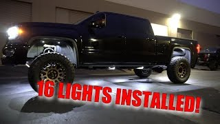 COMPLETE ROCK LIGHT INSTALL START TO FINISH!