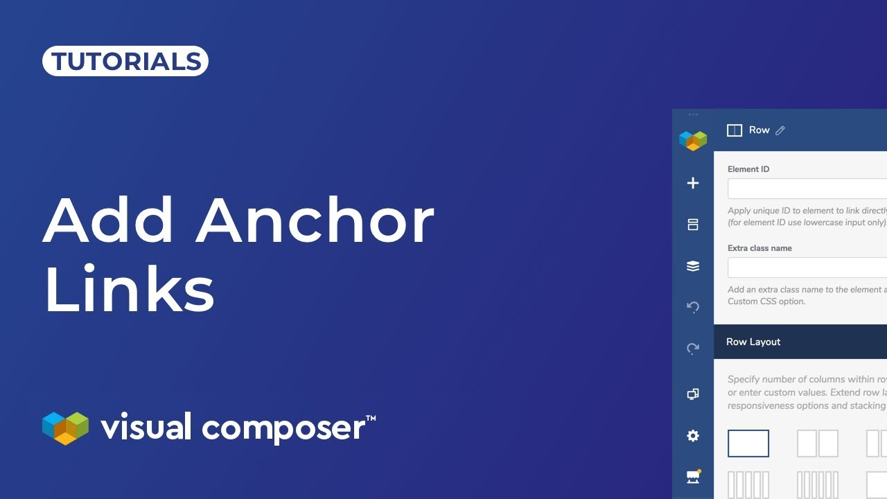 What is Anchor Link and How to Use It? - Visual Composer Website Builder