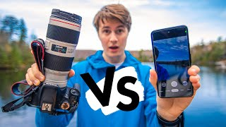 Google Pixel 4a vs 3500$ PRO Canon Camera // Can a PHONE in 2020 take better photos than a DSLR?