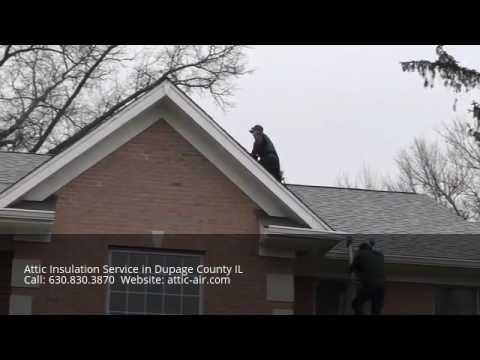Best Attic Insulation Company in Dupage County Illinois IL