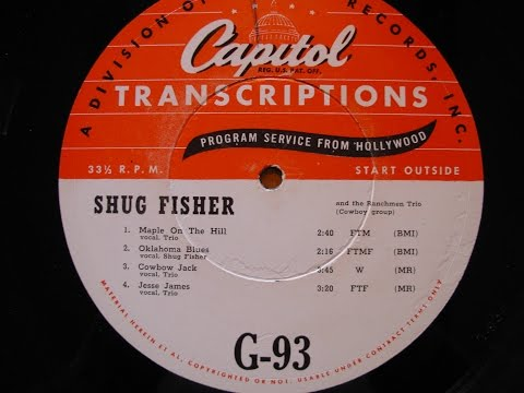 Shug Fisher #3 w Joaquin Murphey Steel Guitar & Merle Travis/Wesley Tuttle