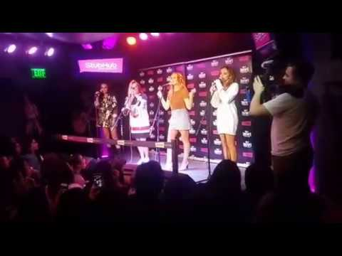 Little Mix Facebook Live Stream With 99.7 NOW Radio - San Francisco - 27.03.17