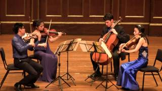 Beethoven String Quartet No 12 in E-flat major op 127 LIVE in HD