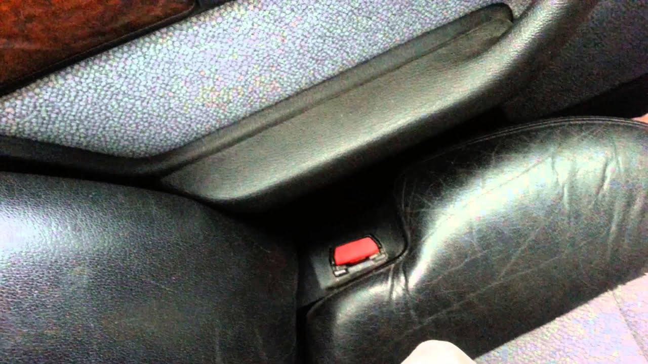 bmw e32 rear seat on e34 p2 - YouTube