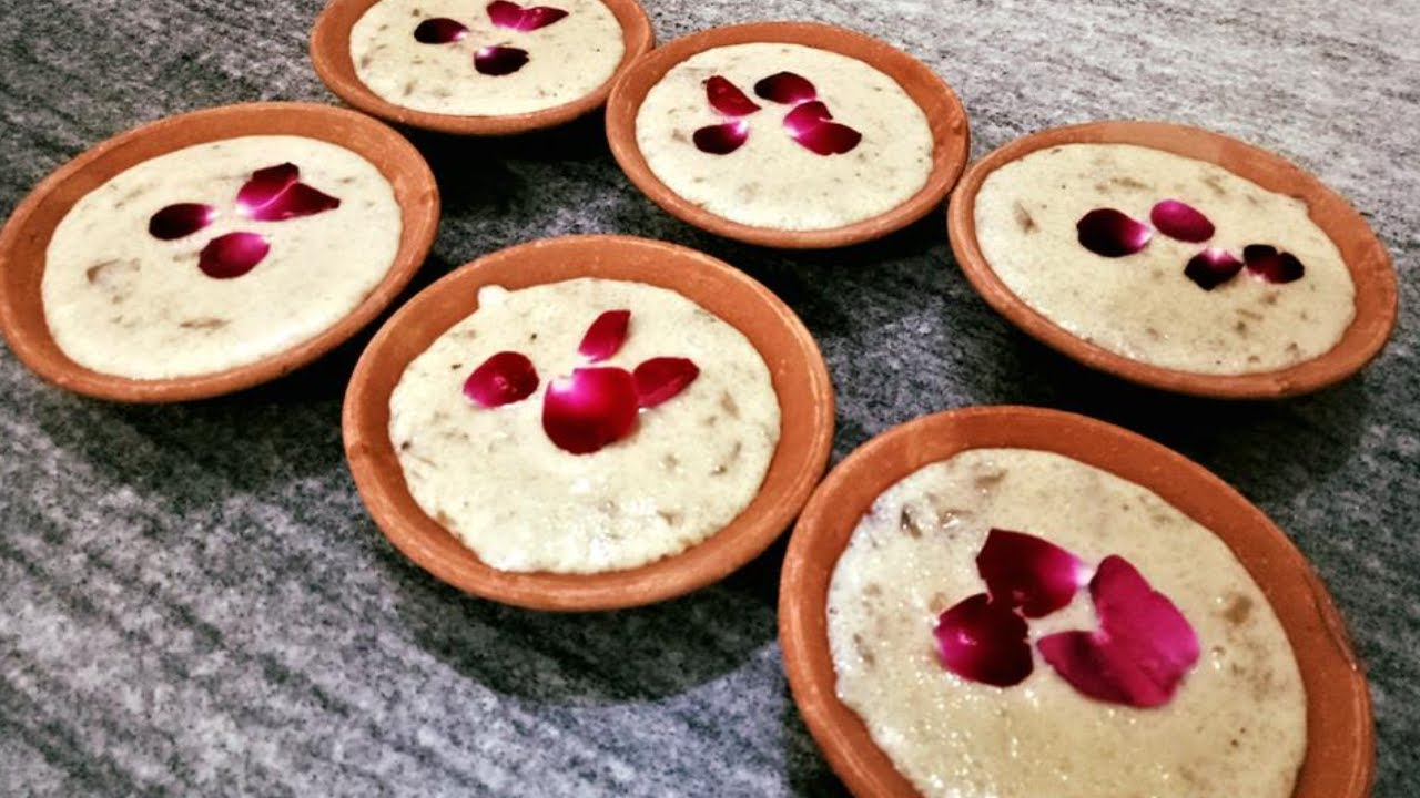 Quick besan ke ladoo in microwave besan ladoo microwave recipe phirni rose phirni recipe rice pudding indian festival recipes ramadan special firni recipe forumfinder Images