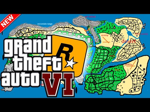 What We Know About GTA 6 Map Location & Size 2022 Release Date & More? GTA VI