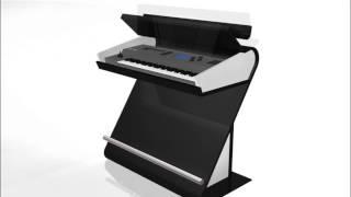 Yamaha Keyboard Stand - Concept Design