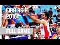 Iran v Japan - 3rd Place - Full Game - 2015 FIBA Asia Championship