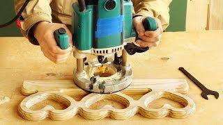 Фрезерование и изготовление части наличника, milling a part of a platband