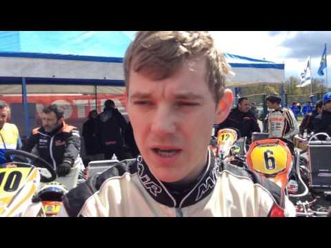 Ben Hanley  interview after Prefinal KZ (sixth position)