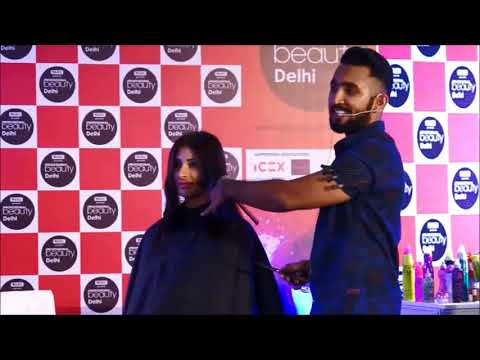 Master Class With Rohit Solanki (TIGI) on Hair Cut And Hair Styling - Part 1 #professioanlbeauty