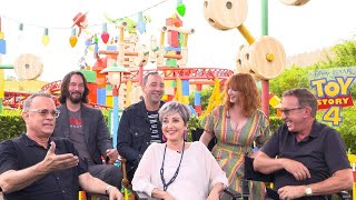 Toy Story 4: Tom Hanks, Tim Allen, Keanu Reeves, and Co-Stars (Full Interview)