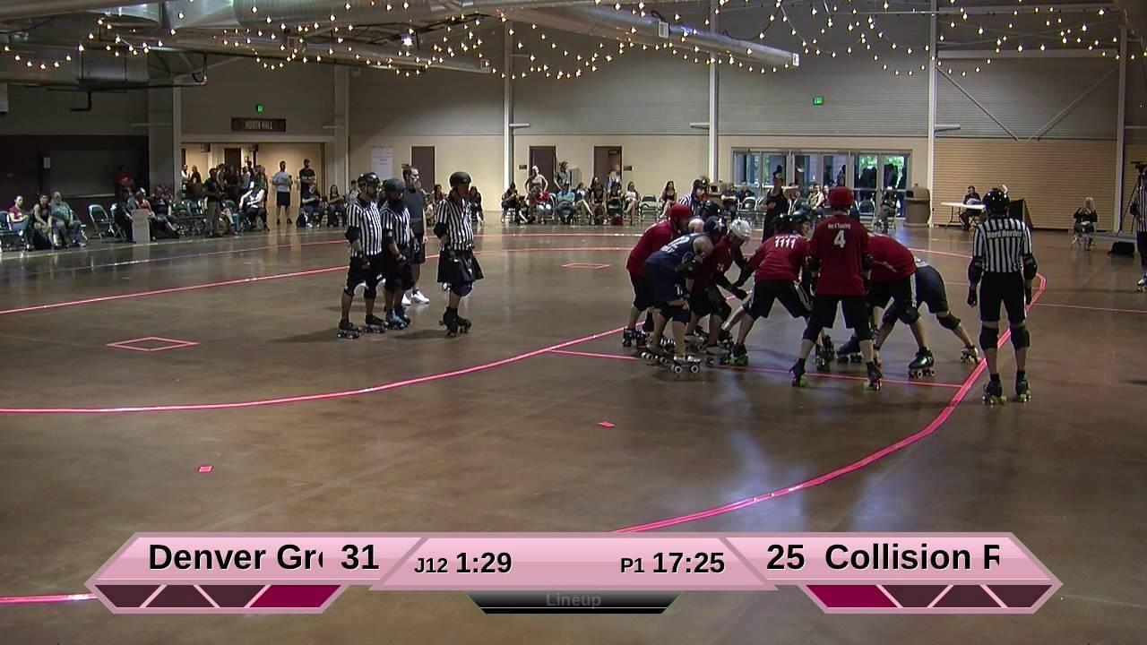 Roller skating denver - Track 2 Denver Ground Control Vs Collision Roller Girls