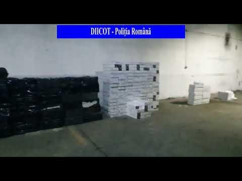 Percheziții la contrabandiști de țigări aduse din Ucraina și Republica Moldova