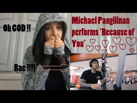 Michael Pangilinan performs 'Because of You' (Keith Martin) _ REACTION