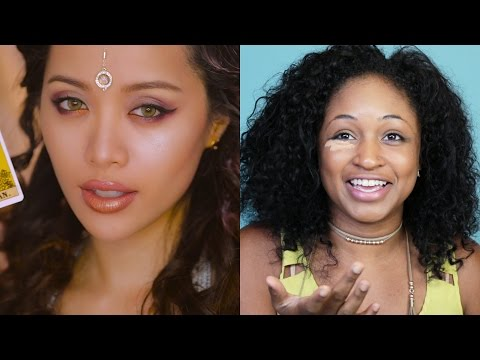 Beauty Newbies Try Michelle Phan's Fantasy Look - ICON