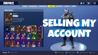 SELLING MY FORTNITE ACCOUNT! *not sold*