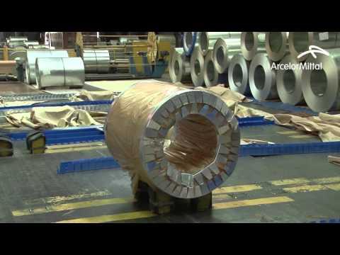 Производство оцинкованного проката и проката с полимерным покрытием