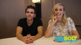 Paul Wesley and Candice King Talk Steroline, Vampire Diaries Final Season and More!