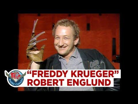 How Robert Englund turns into Freddy Krueger, 1987