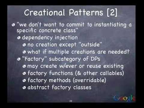 Python Design Patterns