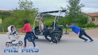 The Miz & Maryse must rescue Marjo after she breaks the golf cart: Miz & Mrs., April 16, 2019