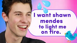 Download Shawn Mendes Reads Thirst Tweets Mp3 and Videos
