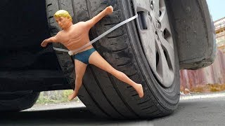 EXPERIMENT: CAR VS STRETCH ARMSTRONG