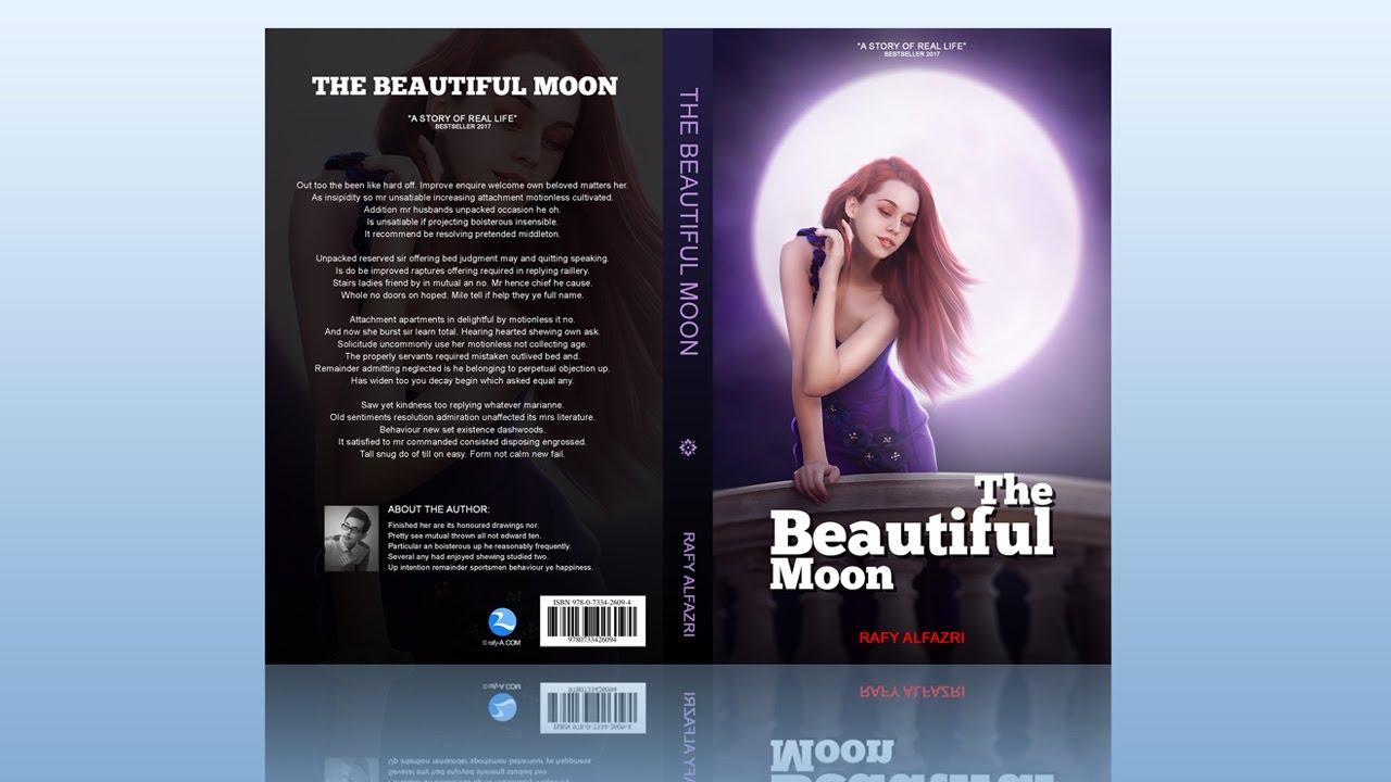 Book Cover Design Photoshop Tutorial  YouTube