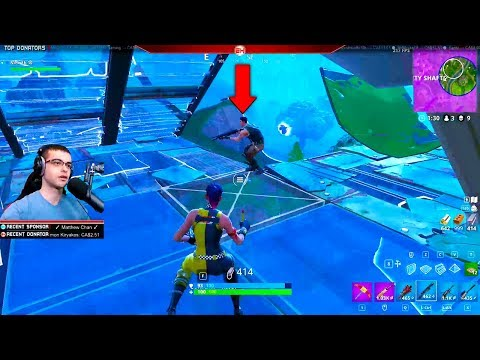 I edited my floor to make the enemy fall to their death! (Nick Eh 30's BEST Fortnite Moments #11)