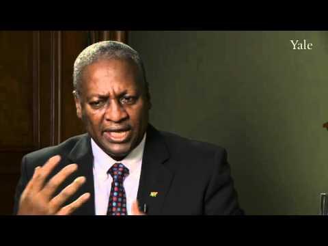 Ghana Vice President: AIDS, Communication Revolution & Libya
