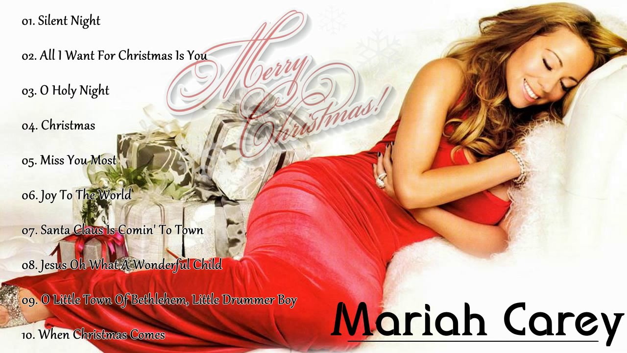 Mariah Carey Merry Chr... Mariah Carey Christmas Songs Youtube